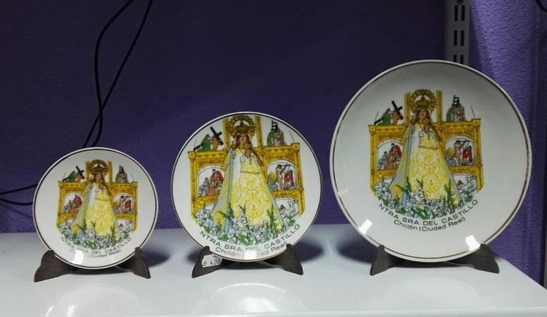 Platos Virgen del Castillo